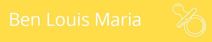 Ben Louis Maria