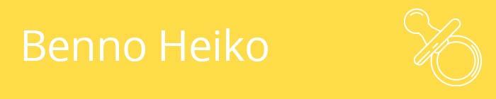 Benno Heiko