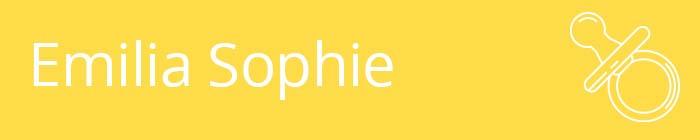 Emilia Sophie