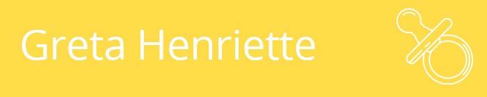 Greta Henriette