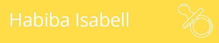 Habiba Isabell