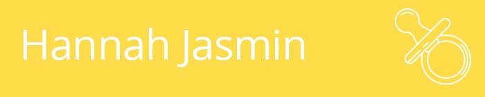 Hannah Jasmin