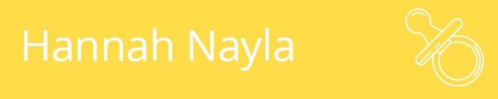 Hannah Nayla