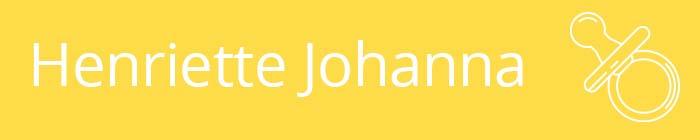 Henriette Johanna