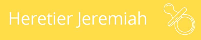 Heretier Jeremiah