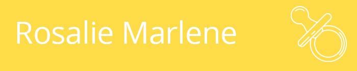 Rosalie Marlene