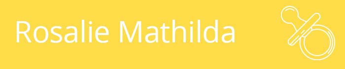 Rosalie Mathilda