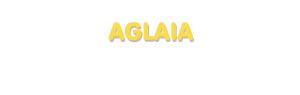 Der Vorname Aglaia