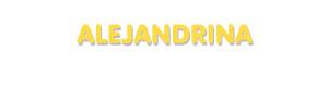 Der Vorname Alejandrina