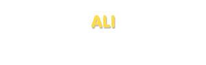 Der Vorname Ali