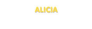 Der Vorname Alicia