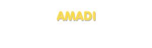 Der Vorname Amadi
