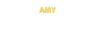 Der Vorname Amy