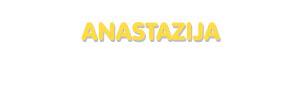 Der Vorname Anastazija