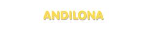 Der Vorname Andilona