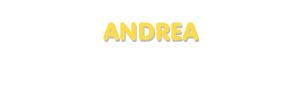 Der Vorname Andrea