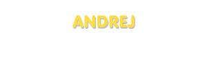 Der Vorname Andrej