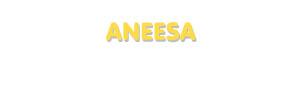 Der Vorname Aneesa