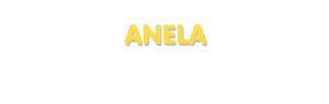 Der Vorname Anela