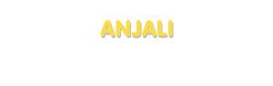 Der Vorname Anjali