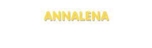 Der Vorname Annalena