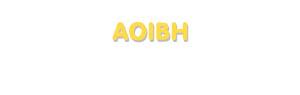 Der Vorname Aoibh