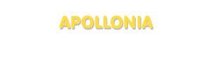 Der Vorname Apollonia