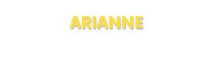 Der Vorname Arianne
