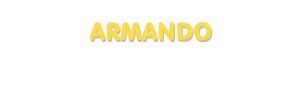 Der Vorname Armando