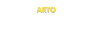 Der Vorname Arto