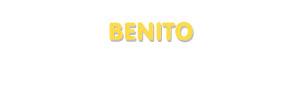 Der Vorname Benito