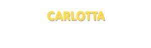 Der Vorname Carlotta