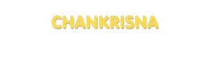 Der Vorname Chankrisna