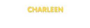 Der Vorname Charleen