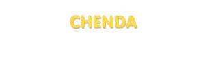 Der Vorname Chenda