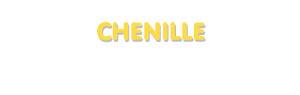 Der Vorname Chenille