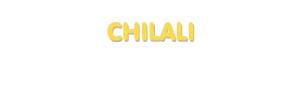 Der Vorname Chilali