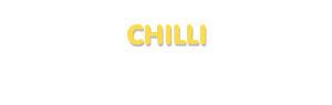 Der Vorname Chilli