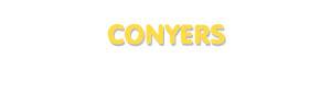 Der Vorname Conyers