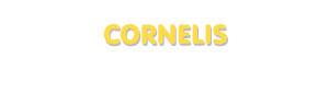 Der Vorname Cornelis