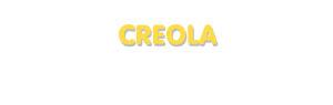 Der Vorname Creola
