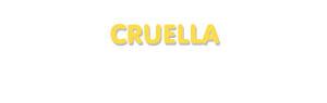 Der Vorname Cruella