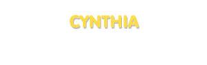 Der Vorname Cynthia