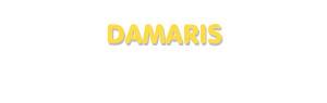 Der Vorname Damaris
