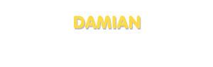 Der Vorname Damian