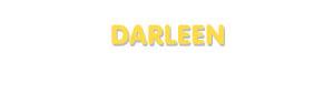 Der Vorname Darleen