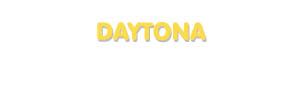 Der Vorname Daytona