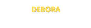 Der Vorname Debora