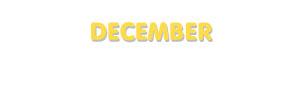 Der Vorname December