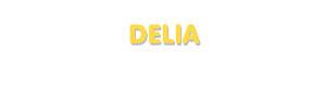 Der Vorname Delia